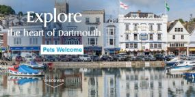 Pets Welcome Hotel in Dartmouth | The Royal Castle Devon Dog Friendly